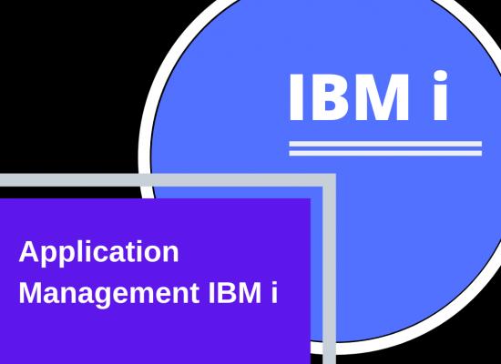 Application management IBM i